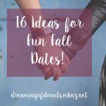 16 Ideas for Fun Fall Dates