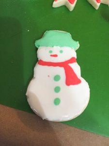Snowman Sugar, sugar cookies